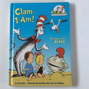 "Dr. Seuss Hardcover book, ""Clam-I-Am"""